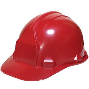 一般作業/工事用ヘルメット・マダーレッド・FN2-1(ABS樹脂・内装一式/ワンタッチあご紐/ライナーなし)