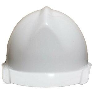 一般作業/工事用ヘルメット・ホワイト・BA-1B(ABS樹脂・内装一式/ワンタッチあご紐/ライナー付)