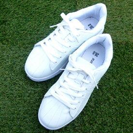 白スニーカー 運動靴 通学用 白靴 ホワイト 白 スニーカー レースアップ 紐靴 ローカット メンズ