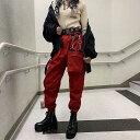 カーゴパンツ レディース ダンス衣装 パンツ 韓国 ダンス 衣装 韓国ファッション ストリート系 ファッション ヒップホ…