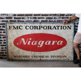 看板 サイン FMC CORPORATION ガレージ アメリカ 西海岸 アドバタイジング 企業物 ヴィンテージ