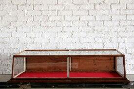 ショーケース 店舗什器 ディスプレイ ガラスケース オーク材 アクセサリー アトリエ Dixon Borgeson & CO. アンティーク ヴィンテージ