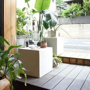 モールテックス ベンチ 屋外 防水 プランター台 W33×D33×H33cm ガーデン チェア ガーデンベンチ ガーデンチェア モールテックス アウトドア 玄関 ガーデニング 庭 屋外用 椅子 腰掛け 飾り台 玄
