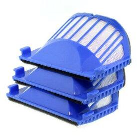 ルンバ フィルター 500/600シリーズ用【青色】【消耗品】互換品 定形外郵便