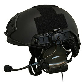 【3点セット】 ZTAC Comtac II ヘッドセットver2.0(FG) OPS-CORE STANDARD タクティカルヘルメット ARCレールアダプター (BK) サバゲー 装備 ZTACTICAL Z-TAC コムタック 2 サバイバルゲーム ヘルメット トランシーバー 無線機