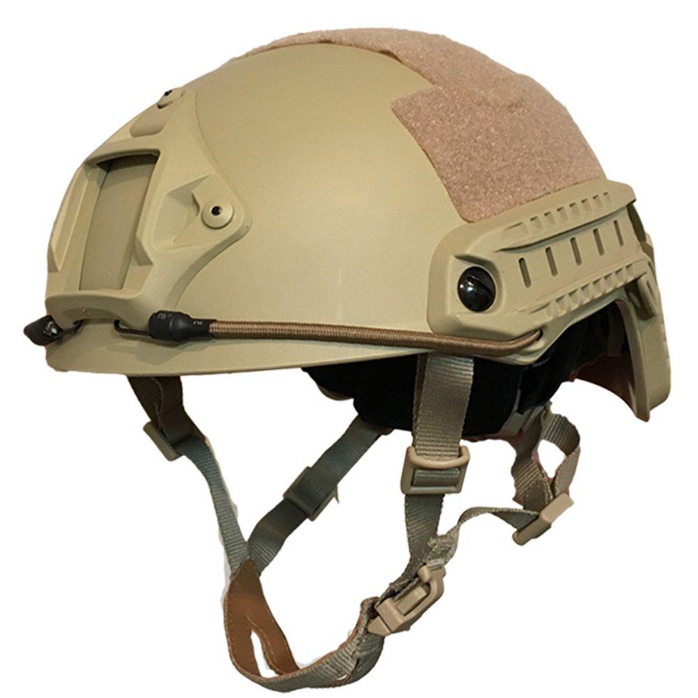 特殊部隊 サバゲー ヘルメット OPS-CORE FAST STANDARD タイプ タクティカルヘルメット DE ダークアース COMTACシリーズ対応 サバゲ サバイバルゲーム ミリタリー 装備 サバゲーヘルメット 米軍 アメリカ軍 PMC ヘッドセット