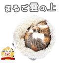 【 ふわもふ猫ベッド 】 4Claws 猫 ベッド 猫ベッド ベッド 猫用 洗える おしゃれ 猫用ベッド 猫クッション ネコベッ…