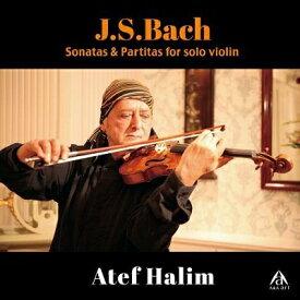 【予約販売】J.S.バッハ: 無伴奏ヴァイオリンのためのソナタ&パルティータアテフ・ハリムAtef HALIM(Violin)ヴァイオリン/ピアノ/CD/クラシック/BGM