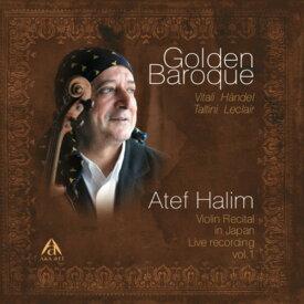 ゴールデンバロック Golden Baroqueシャコンヌ/悪魔のトリルアテフ・ハリムAtef HALIM(Violin)ヴァイオリン/ピアノ/CD/クラシック/BGM