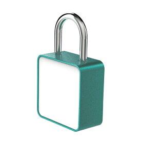 防犯グッズ TANNER 番号可変式ダイヤル錠 キャンバスロック (アクアグリーン) 防犯 鍵
