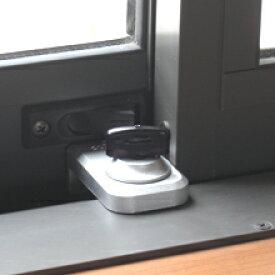 ノムラテック N-1041 ウインドロック シルバー 防犯 鍵 防犯グッズ 窓