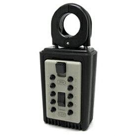 キーボックス 暗証番号 防犯グッズ カギ番人 PC4 南京錠型プッシュボタン式 鍵 キーBOX カギ