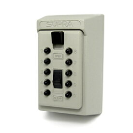 防犯グッズ キーボックス 壁掛け 暗証番号 カギ番人 壁付固定型プッシュボタン式 PS6 キーBOX 壁掛