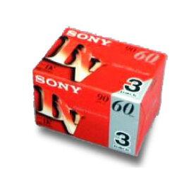 【ソニー】ミニDVカセット(ICメモリーなし) 60分 3本3DVM60R3☆家電 ※お取り寄せ商品【RCP】【02P03Dec16】