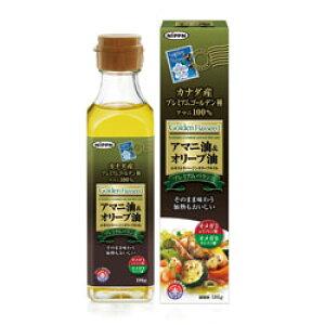 【日本製粉】アマニ油&オリーブ油 186g ※お取り寄せ商品【RCP】【02P03Dec16】