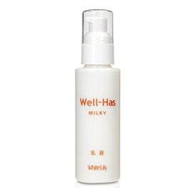 【ホワイトリリー】Well−Has(ウエルハース)ミルキー 100ml ※お取り寄せ商品【RCP】