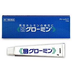【第1類医薬品】【送料無料の3個セット】【大東製薬】男性ホルモン軟膏 グローミン 10g (性機能改善)※お取り寄せになる場合もございます【RCP】