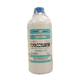 【第3類医薬品】【昭和製薬】塩化ベンザルコニウム液 500ml※お取り寄せになる場合もございます【RCP】【02P03Dec16】