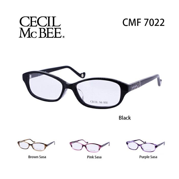 メガネ 度付き レディース セシルマクビー 眼鏡 CMF-7022 レディース ウェリントン 度なし 伊達メガネ CECIL McBEE サイズ:52 国内正規品 かわいい おしゃれ