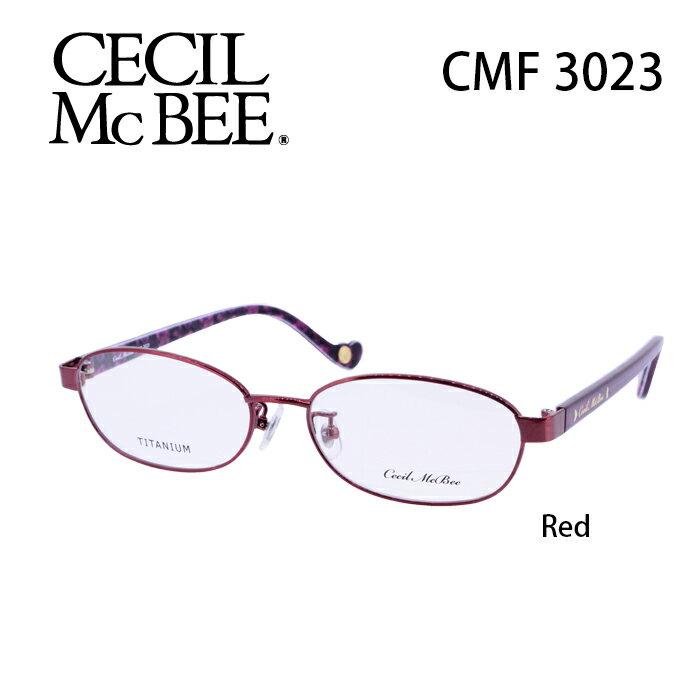 メガネ 度付き レディース セシルマクビー 眼鏡 CMF-3023 レディース ウェリントン 度なし 伊達メガネ CECIL McBEE サイズ:52 国内正規品 かわいい おしゃれ