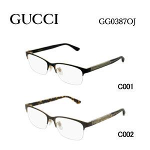 グッチ メガネフレーム GUCCI GG0387OJ 男女兼用 スクエア 眼鏡 度付き 度なし 伊達メガネ サイズ:55 国内正規品 かわいい おしゃれ 送料無料