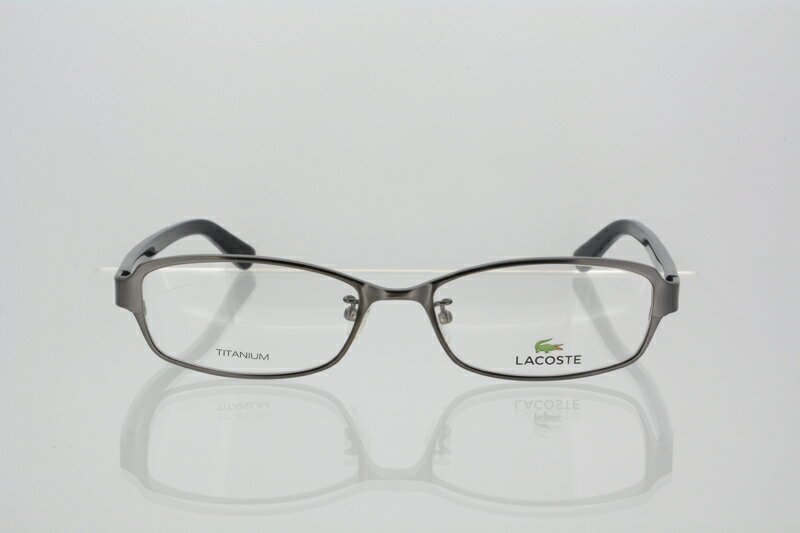 ラコステ メガネ フレーム LACOSTE メンズ ウェリントン 伊達メガネ 度付き・度なし サテン ガンメタル l2170a 国内正規品 かわいい おしゃれ