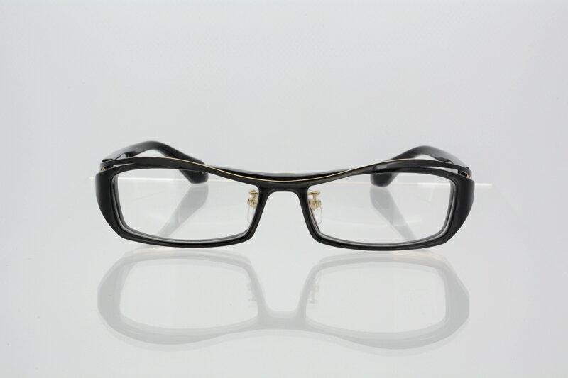レスザンヒューマン メガネ フレーム めがね 眼鏡 メンズ スクエア 伊達メガネ 度付き・度なし Less Than human ブラック・ゴールド cuckoo-0104 国内正規品 かわいい おしゃれ 送料無料