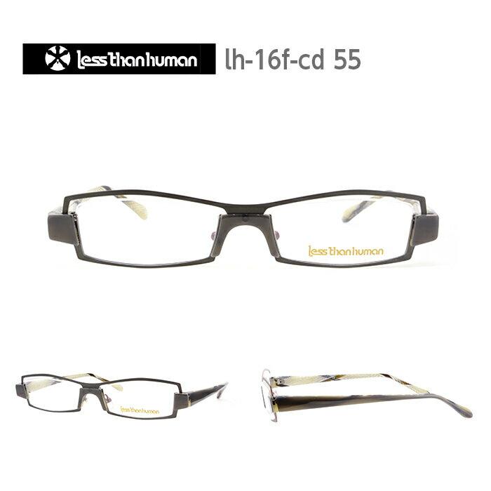 レスザンヒューマン めがね 眼鏡 Cd メンズ レディース スクエア メガネ フレーム 度付き 度なし 伊達メガネ サイズ:54 Less Than human 国内正規品 かわいい おしゃれ 送料無料