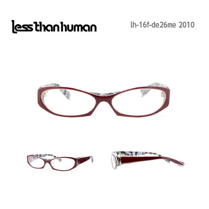 レスザンヒューマン めがね 眼鏡 de-26-me-0 デフロメール メンズ レディース スクエア メガネ フレーム 度付き 度なし 伊達メガネ サイズ:57 Less Than human 国内正規品 かわいい おしゃれ 送料無料