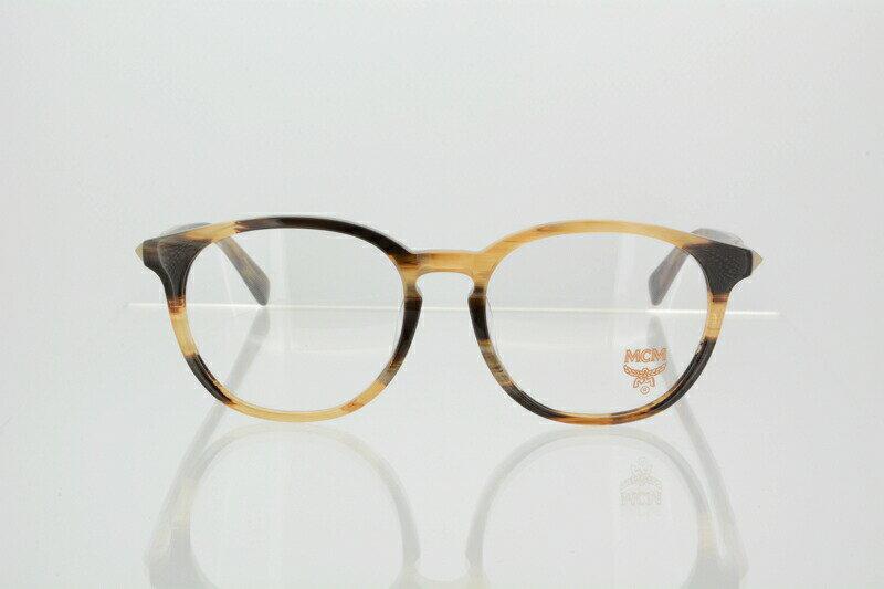 メガネ フレーム MCM 度付き 度なし ボストン めがね 眼鏡 エムシーエム ユニセックス セルフレーム MCM2600A サイズ:52 211 Brown Horn ブラウンホーン 伊達メガネ 国内正規品 かわいい おしゃれ 送料無料