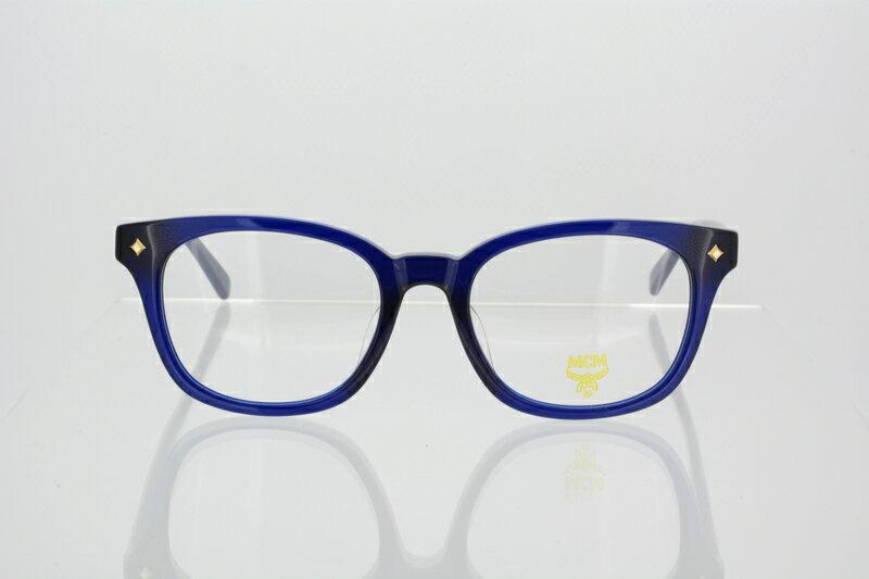メガネ フレーム MCM 度付き 度なし ボストン 眼鏡 エムシーエム ユニセックス セルフレーム MCM2604A サイズ:52 425 Blue ブルー 伊達メガネ 国内正規品 かわいい おしゃれ