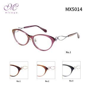 ミクサージュ メガネフレーム Mixage MX5014 レディース ボストン 眼鏡 度付き 度なし 伊達メガネ サイズ:52 国内正規品 かわいい おしゃれ 送料無料