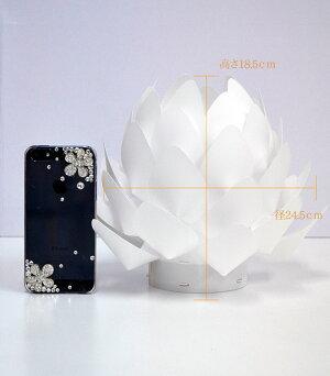 【送料無料】〔デザイン照明〕Origami-lite蓮花XS/オリガミライト〔電池式〕【インテリア】【ライト】【盆提灯】【新盆飾り】【カメヤマ】