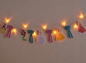 【ガーランド】【ディズニー】【在庫限り】ディズニートゥインクルLEDガーランド「プリンセス」【パーティー】【誕生日】【記念日】【プリンセス】【白雪姫】【シンデレラ】【アリエル】【ベル】【オーロラ姫】【美女と野獣】【眠れる森の美女】【クリスマス】