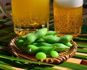 ビールのつまみ!カメヤマローソク枝豆[えだまめ]【御供】【お墓参り】【お彼岸】【お盆】*