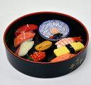 【寿司ギフト】【桶入】「寿司づくし」キャンドルギフトセット〔陶製プレート付〕【好物ローソク】【すし】【お寿司】【日本】【御供】…