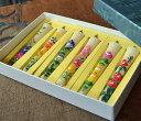 【絵蝋燭】手描き絵ろうそく 7月から12月の花「花の詩」3号6本入り【絵ローソク】【進物】【お彼岸】【お盆】【新盆見舞】【喪中見舞】…