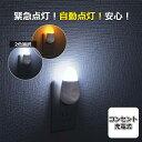 オーム電機 LEDナイトライト 停電時緊急点灯 スイッチ式 常夜灯 足元灯 フットライト ledライト 屋内 安全灯 補助灯 …
