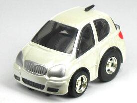【単品】チョロQ トヨタ ヴィッツ (Vitz) クラヴィア 2002 パールホワイト