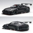 【 8/25(金)以降 順次ご発送 】オートアート 1/18 日産 GT-R NISMO GT3 マット・ブラック