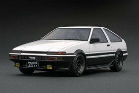 ignition model 1/18 トヨタ スプリンタートレノ AE86 GT APEX 3ドア ホワイトII (RSワタナベホイール)