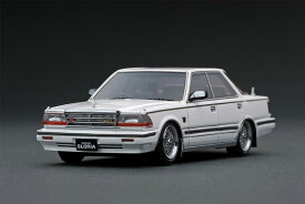 ignition model 1/43 日産 グロリア (Y30) Brougham VIP 後期型 ホワイト (BBS RS 16インチホイール)