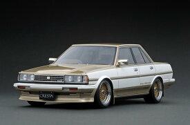 ignition model 1/18 トヨタ クレスタ GTツインターボ (GX71) 後期型 ホワイト/ゴールド (BBS RSタイプ 17インチホイール)