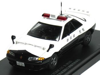 レイズ 1/43 スカイライン R32 GT-R パトカー 静岡県警察 高速隊 【421】