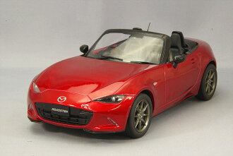 First18 1/18 Mazda MX-5 ND Seoul red premium metallic