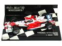 ミニチャンプス 1/43 パナソニック トヨタ レーシング TF106 2006 No.8 J.トゥルーリ