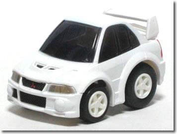 ※箱ヤレ有※【廃盤】チョロQ32 三菱 ランサー エボ6 ホワイト