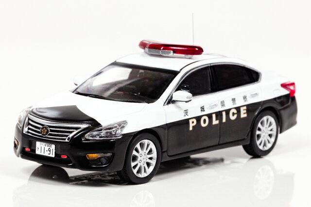 レイズ 1/43 日産 ティアナ (L33) 2016 茨城県警察 地域部 自動車警ら隊車両【450】