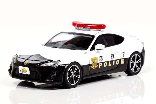 レイズ 1/43 トヨタ 86 2014 警視庁広報 イベント車両 【トミカ警察】