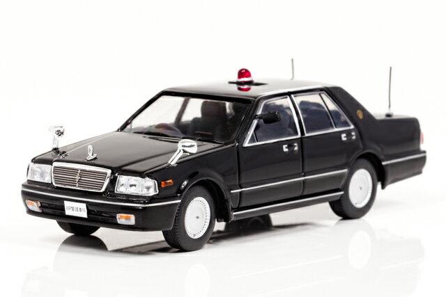 レイズ 1/43 日産 セドリック CLASSIC SV (PY31) 1999 警察本部 警備部 要人警護車両